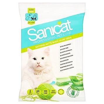 Sanicat Professional Pet Amor Aloe Vera toallitas 4 por paquete