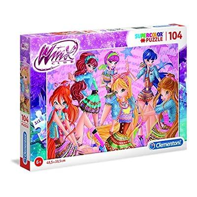 Clementoni Supercolor Puzzle Winx Multicolore 27112