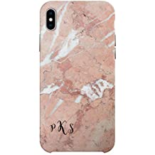Monogram iPhone X case, Custom Marble iPhone 10 Case, iPhone 8 Case, iPhone 7 Plus Case, Samsung Galaxy S8 Cover, Samsung Galaxy S7 C2