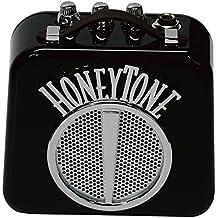 Danelectro Honeytone N-10 Guitar Mini Amp, Black with belt clip
