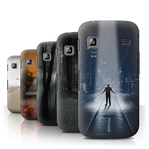 STUFF4 Phone Case / Cover for Samsung Galaxy Gio/S5660 / Pack 5pcs / Extraterrestrial Collection