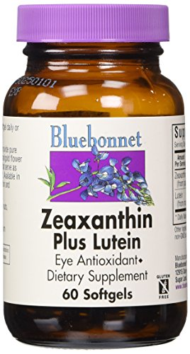 BlueBonnet Zeaxanthin Lutein Softgels Count product image