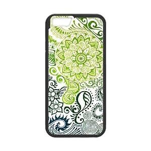 "Random Flowers New Printed Case for Iphone6 4.7"", Unique Design Random Flowers Case"
