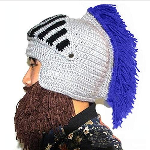 Casco Máscara Sombrero, Peluca Barba Sombreros Hechos a Mano ...