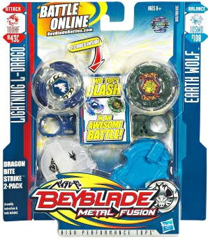 Beyblade Metal Fusion Battletop Faceoff - Dragon Bite Attack by Beyblade
