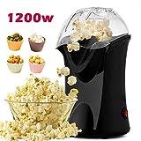 Best Air Popcorn Poppers - Popcorn Popper, Hot Air Popcorn Maker, 1200W Popcorn Review