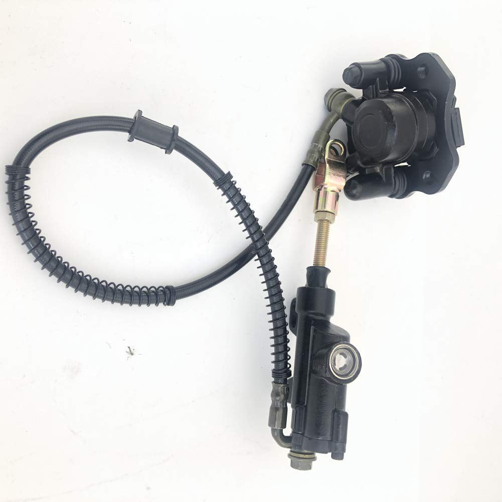 AH Rear Brake Caliper & Master Cylinder Assembly for 50cc-125cc many Chinese ATVs Taotao SUNL by AH