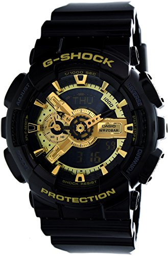 G Shock Military GA 110 Watch Black