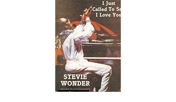 I Just Called To Say I Love You Pianovocalchords Stevie Wonder