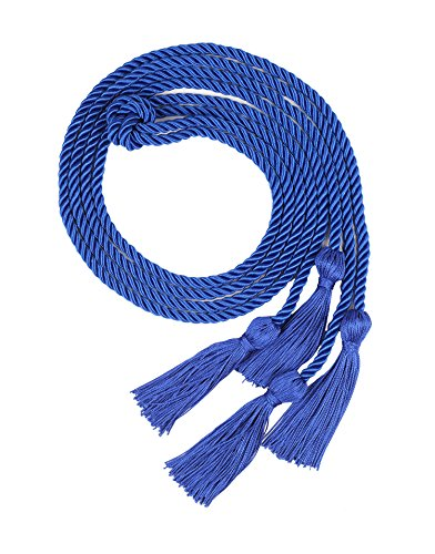Royal Blue Cord - Double Graduation Honor Cords, 68