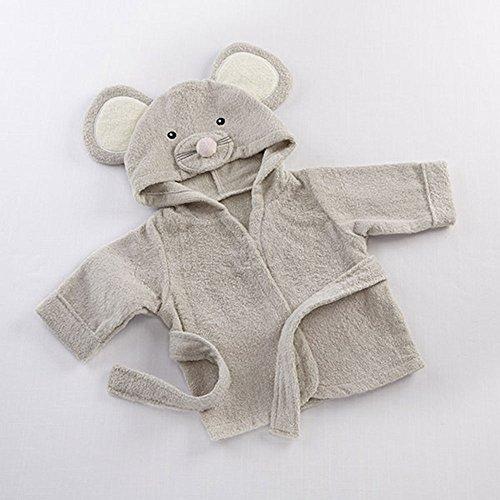 Pawaca Soft Cartoon Baby Bath Towels Hooded Towel Newborn Blanket
