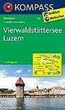 Vierwaldstätter See - Luzern: Wanderkarte. GPS-genau. 1:50000 (KOMPASS-Wanderkarten, Band 116)