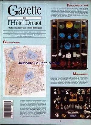Téléchargement gratuit de livres audio du domaine public GAZETTE DE L'HOTEL DROUOT (LA) [No 4] du 21/01/1994 - PORCELAINES DE CHINE - GUSTAVE FLAUBERT - MIGNONNETTES. B0047TQSO2 ePub