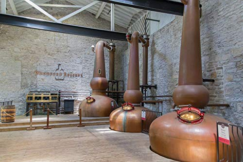 Large Format Print, Canvas or Unframed, Woodford Reserve Copper Stills Wall Art, Bourbon and Whiskey Decor, Great for Pub and Bar Decor