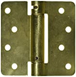 Deltana DSH4R43 Single Action Steel 4-Inch x 4-Inch x 1/4-Inch Spring Hinge by Top Notch Distributors, Inc. (Home Improvement)