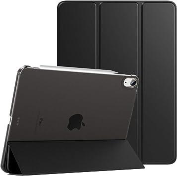 iPad Air 4th Generation 2020 10.9-Inch Auto SleepWake Black Case New iPad Air Leather Case Support Apple Pencil /& Auto Sleep Wake Cover
