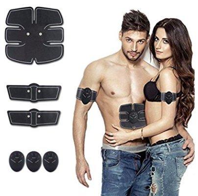 ABS Stimulator Portable Ultimate Abdominal Muscle Toner Unisex Massage Toning Belt for Abdomen/Arm/Leg Training