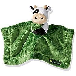 John Deere Unisex Baby Cuddle Blanket, Green, One Size