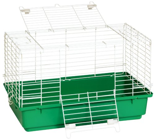 Little Giant Farm & Ag Miller Manufacturing 150934 24-1/2-Inch Rabbit Cage with Plastic Tray by Little Giant Farm & Ag