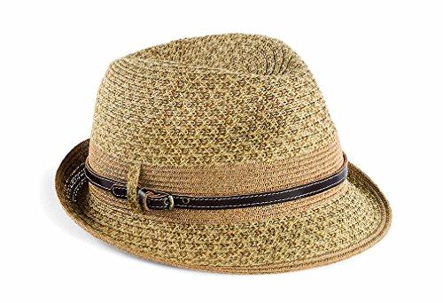 San Diego Hat Women's Mix Fedora, Natural, One Size