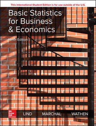Basic Statistics For Business And Economics 9Th Edition