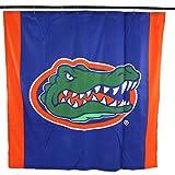 "NCAA Florida Gators Florida Gatorsbig Logo Shower Curtain, Blue, 72"" x 70"""