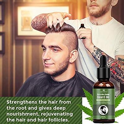 Aceite para el crecimiento de la barba, para hombres, aceite esencial, hidrata, calma, estimula el crecimiento y el brillo, para el cuidado de la barba larga y corta, 30 ml: Amazon.es: Belleza