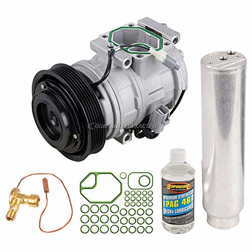New AC Compressor & Clutch With Complete A/C Repair Kit For Toyota Sienna - BuyAutoParts 60-80269RK New