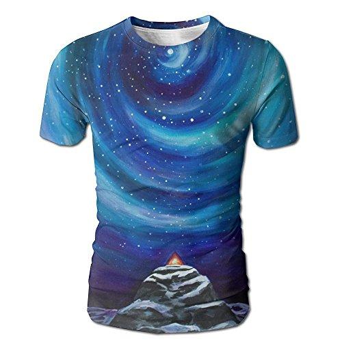 Patrick Star Costume Shorts (Stars Men's Fashion Lifelike Explosion 3D Print Round Collar T-Shirts)