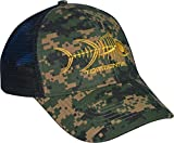 Tormenter Mens Raging Tuna Velcro Strap Hat, Forest Camo, OS