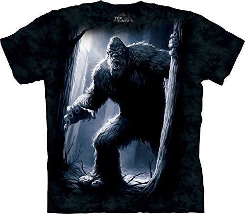 The Mountain Men's Sasquatch T-shirt, Navy, X-Large