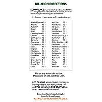 Eco Orange Super 1 Gallon Concentrate - dilution directions