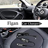 FLGAN 65W Car Auto DC adapter Charger for Asus
