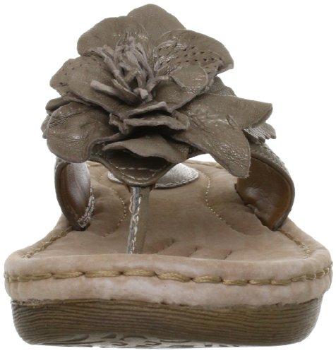 Sandali da Donna Clarks Amaya Iris6 Infradito con Fiore Colore Metallo