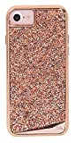 Case-Mate iPhone 7 Case - BRILLIANCE - 800+ Genuine Crystals - Protective Design for Apple iPhone 7 and iPhone 6 - Rose Gold
