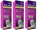Feliway Spray 60 ml Cat Feline Stress Behavior Relief Urine Spraying Scratching (3-Pack)