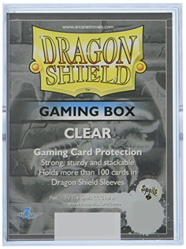 Dragon Shield Card Gaming Box, Clear