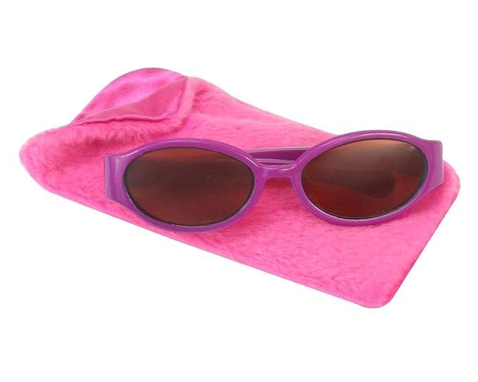1d3d8158035c Amazon.com  18 Inch Doll Sunglasses   Case 2 Pc. Set
