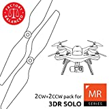 3dr Solo Propellers Upgrade Set White - x4 propellers