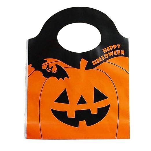 50pcs / Set de Halloween Bolsas linterna de calabaza Bolsa ...