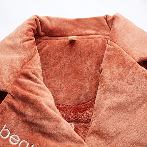 Señoras Dukunkun Invierno Cálido Inicio Espesar Pijamas Mujer Moda Conjuntos qqAwXp