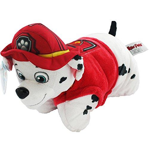 Paw Patrol depp0030–2–Pillow Pet Marshall–2en 1Coussin en peluche by Paw Patrol