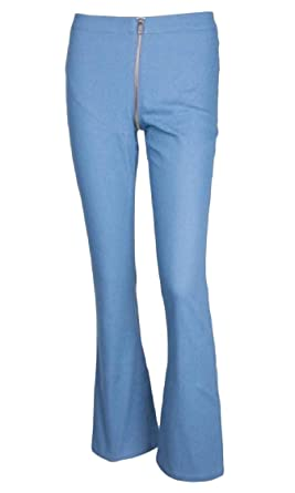 Lutratocro Mens Washed Jeans Denim Casual High Waist Business Pant