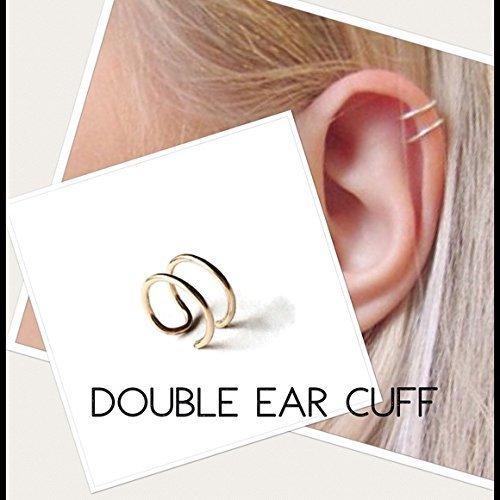 14k Cuff Earrings - 9