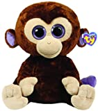 TY Beanie Boos Large 25cm Size - Coconut The Purple Eyed Monkey