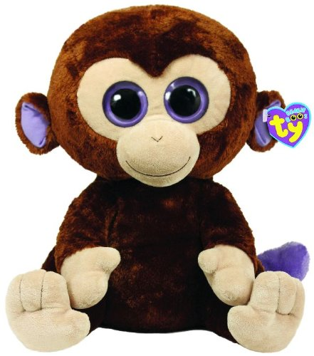 Amazon.com  Ty Beanie Boos Coconut Monkey 42cm Plush 1267b768f77
