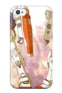 gundam anime Anime Pop Culture Hard Plastic iPhone 4/4s cases