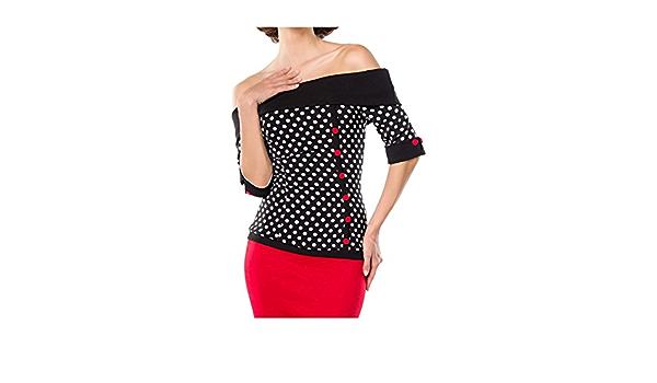 Belsira - Camiseta de manga corta para mujer (talla XS ...