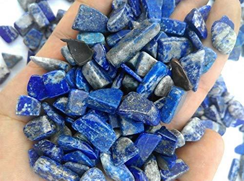 FidgetFidget Natural Blue Lapis Lazuli Crystal Lots Rough Specimen Nice 50g