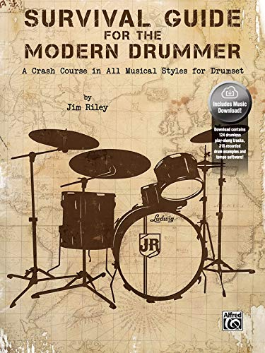 - Survival Guide for the Modern Drummer: A Crash Course in All Musical Styles for Drumset, Book & Online Audio/Software